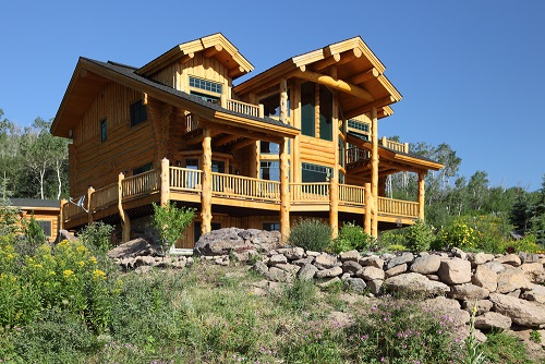 Full Log Home Insurance